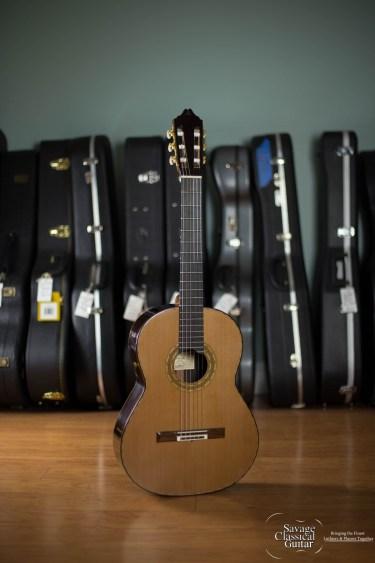 Michael Gee Classical Guitar #616 - 2014 Cedar DT EIRW
