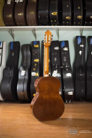 Ashley Sanders Classical Guitar #63 2016 Cedar Sapele