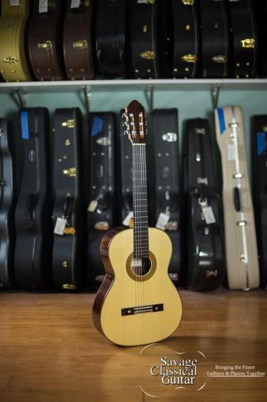 Bob Desmond Classical Guitar 2014 Spruce w/EIRW - Double Sided