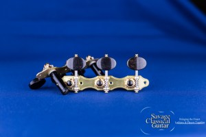 Alessi Tuning Machines - Oval Ebony F1