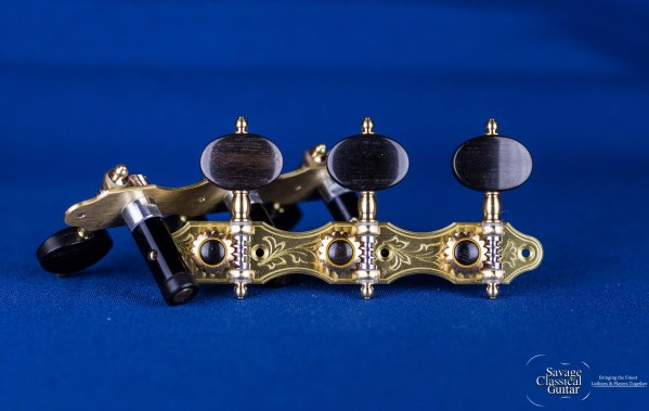 Alessi Tuning Machines - Hauser 7 Oval Ebony
