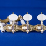 Alessi Tuning Machines - Hauser 8 Oval Ivory
