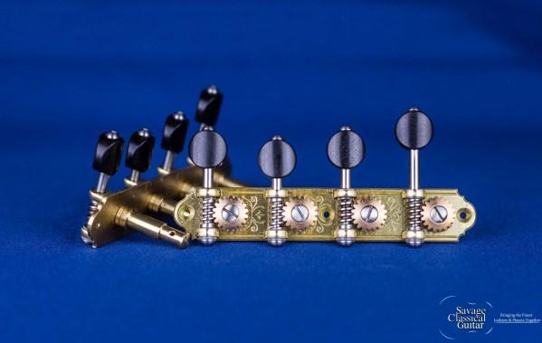 Alessi Mandolin Tuning Machines – Oval Ebony F-Style