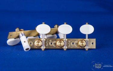 "Alessi Tuning Machines - ""Torres"" Style 1 - Ivory Ovals"