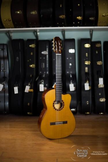 Alejandro Cervantes Signature Cocobolo Classical Guitar #459 Cedar Cocobolo