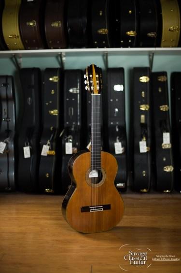 Darren Hippner Classical Guitar #799 NeoLattice Redwood Ziricote