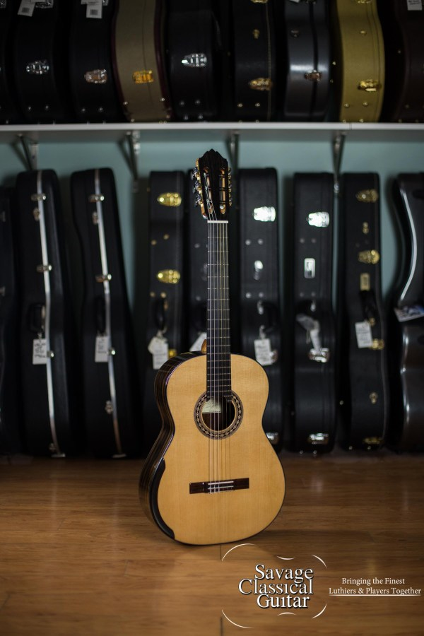 Kim Lissarrague Classical Guitar #279 2017 Cedar Ziricote