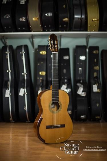 Alejandro Cervantes Signature Fleta Classical Guitar #427 Cedar Cocobolo