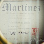 Martinez Dragon #38 2007 Spruce EIRW