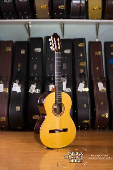 Thomas Malapanis Classical Guitar 2005 Spruce Cocobolo