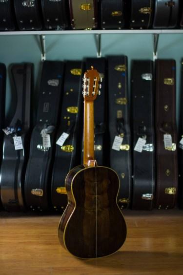 Luciano Maggi Classical Guitar 2016b Lattice Spruce CSA