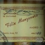 1998 Felix Manzanero Cedar CSA