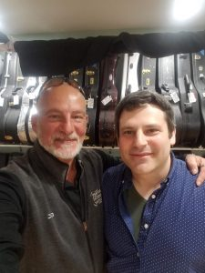 Mark Usherovich at Savage Classical Guitar