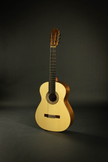 Ashley Sanders Classical Guitar #60 Spruce Australian Blackwood
