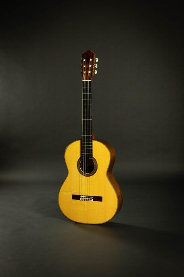 Richard Bruné Classical Guitar #655 2002 Spruce CSA RW