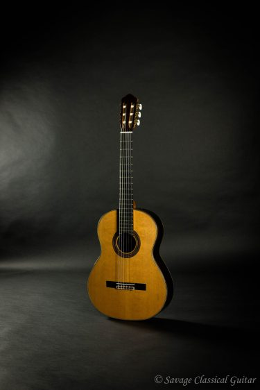 Kenny Hill Player 640mm Cedar Elevated FB PORTS Classical Guitar