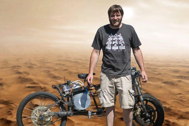 卢克和自行车