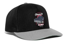 Chevy C10 Snapback Cap Black