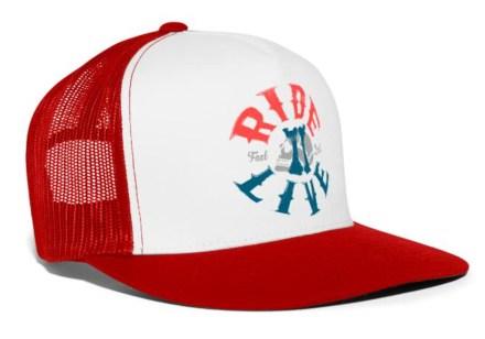 R2L Trucker Cap Red White