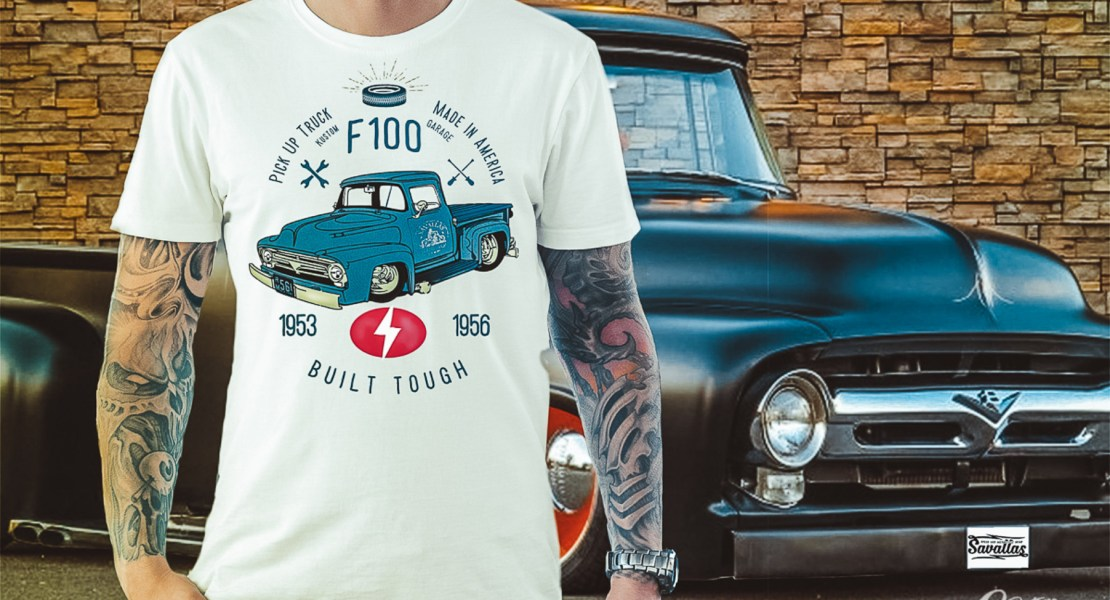 Ford F100 - Built Tough