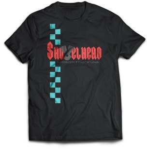 Shovelhead Race Shirt Black
