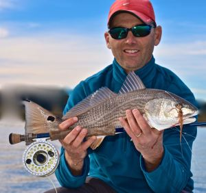 fly fishing for reds