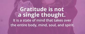 An Gratitude of Attitude