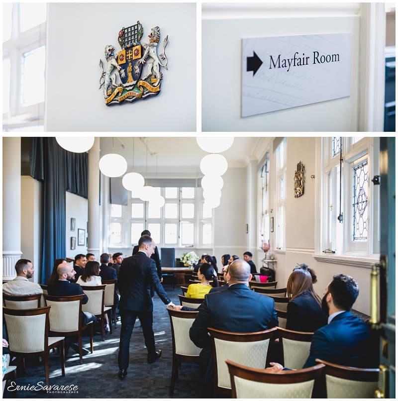 Mayfair Wedding Photographer London Grosvenor Square Marriott