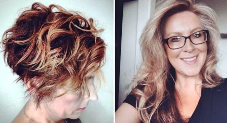 Bilder Frisuren ab 50 Frauen Inspirationen