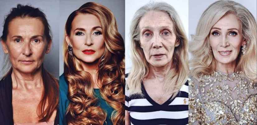 Frisuren ab 50 Vorher Nachher Inspirationen Vor und nach den Frisuren Ute