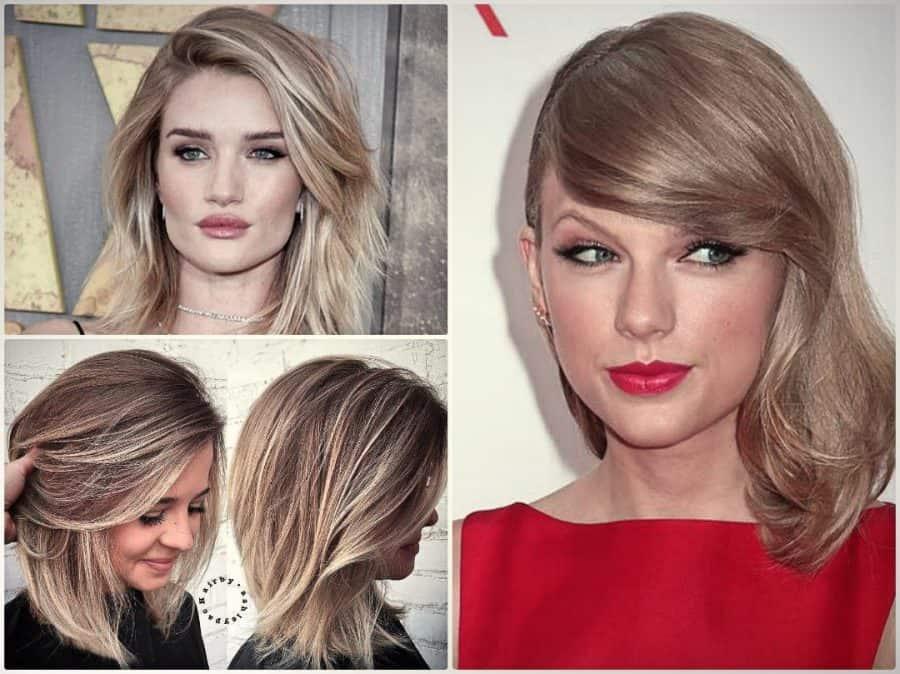 Genial Frisuren Schulterlang Trends Haarschnitte Ideen