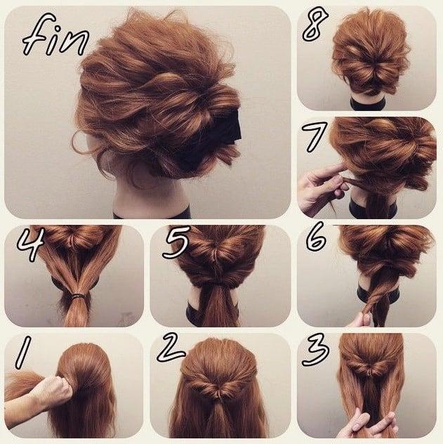 Inspirationen Einfache Frisuren Anleitung