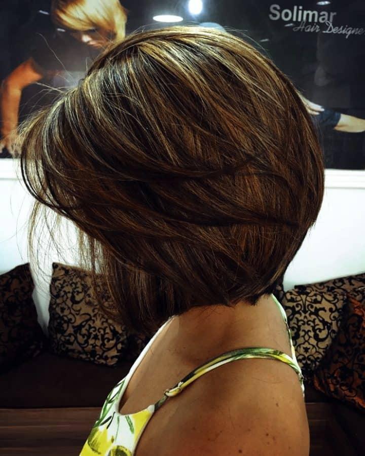 Tolle Frisuren Bob Schulterlang Kurz geschnittene Schulterlänge