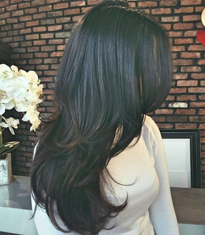 Beste Damen Frisuren Stufig Inspirationen Mehrschichtige Mischung