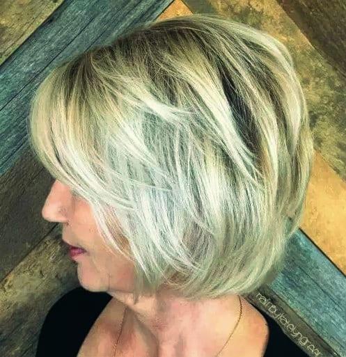 Inspirationen Frisuren für Dünnes Haar ab 40 Bilder