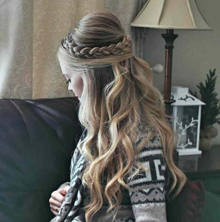 Neuer Damen Frisuren Lang Ideen Langes Haar Bump Braid