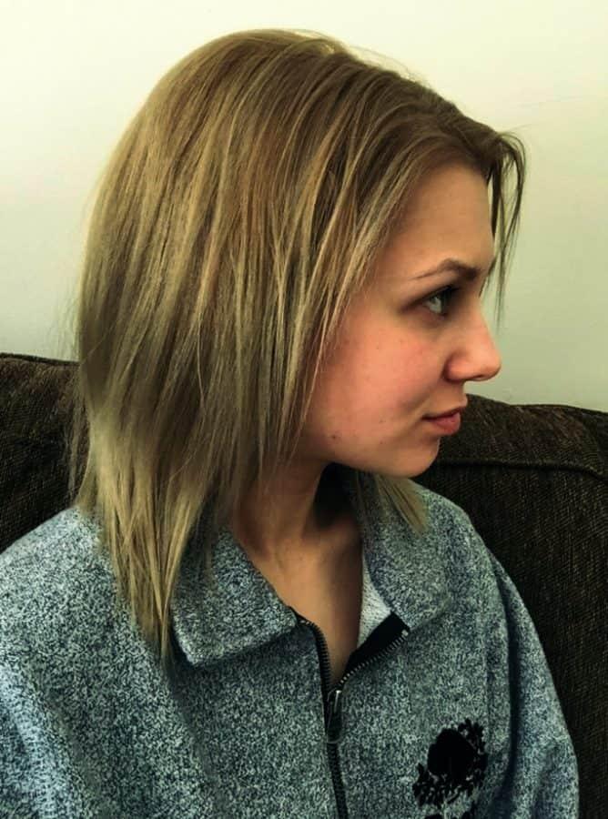 Neuer Frisuren für Dünnes Kaputtes Haar Bilder