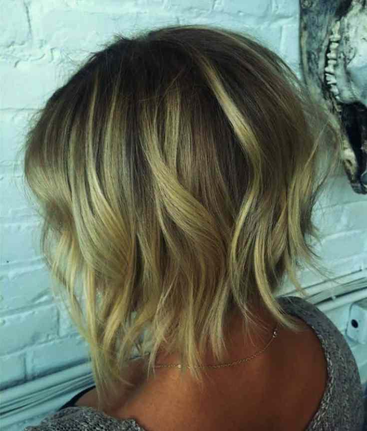 Top Frisuren für Dünnes Haar Kurz Inspirationen Kurze geschichtete blonde Frisur