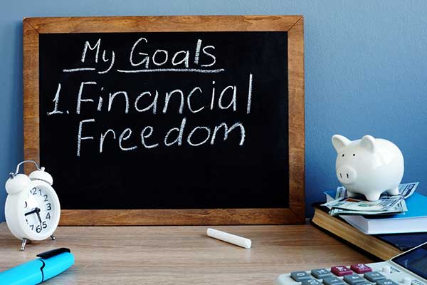 goal to become debt free