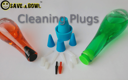 silicone cleaning plug example for vases