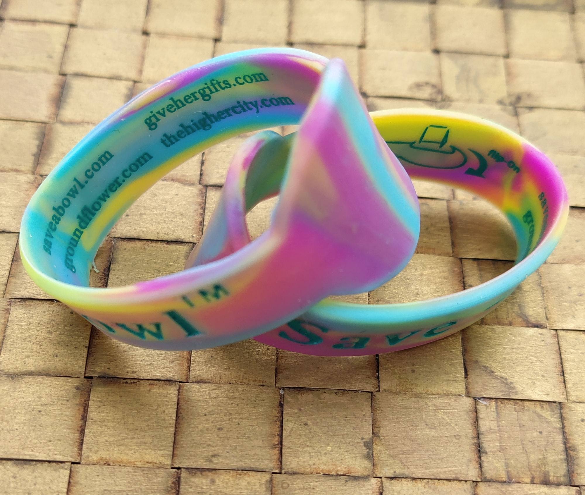 two rainbow save-a-bolws image