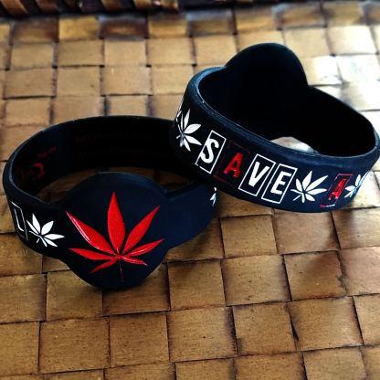 red cannabis leaf save-a-bowls