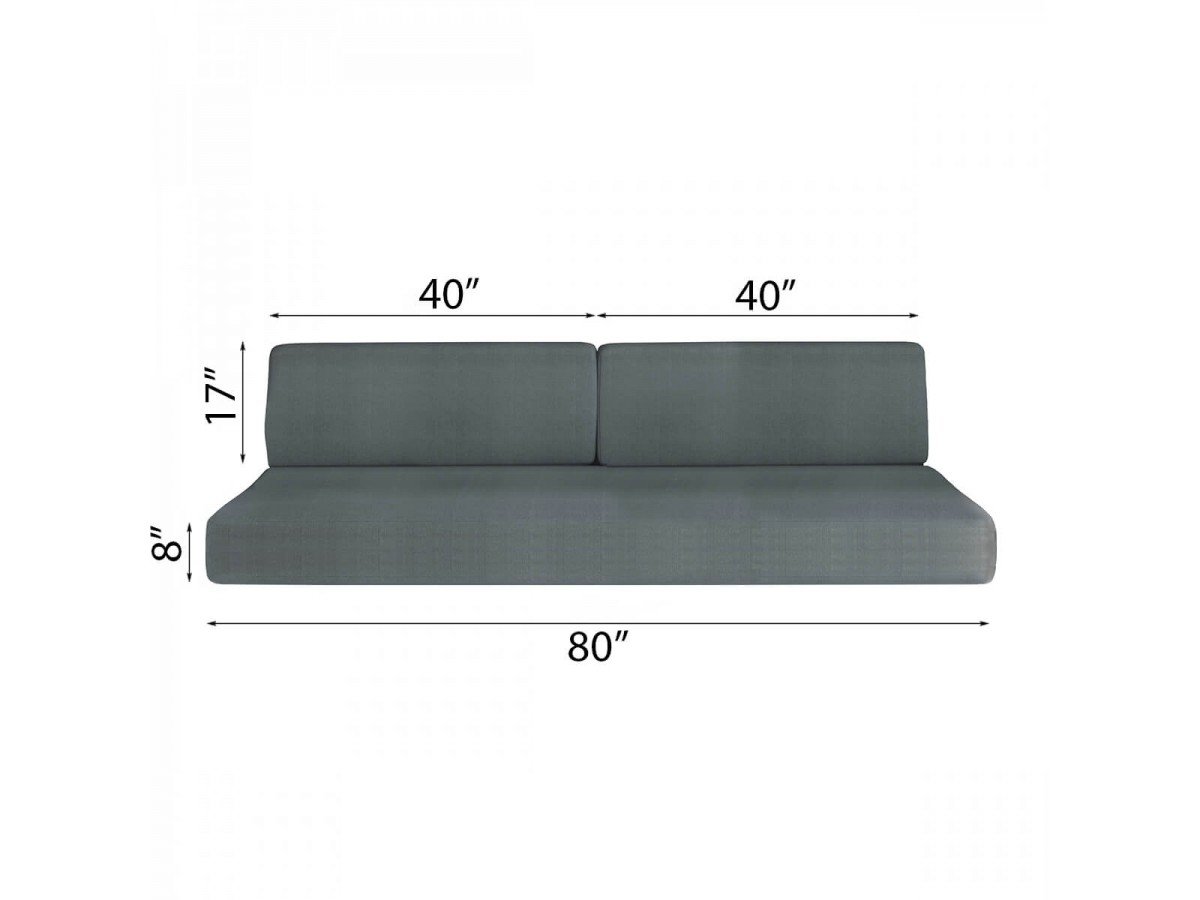 Twin Xl Sofa Bed And Cabinets System