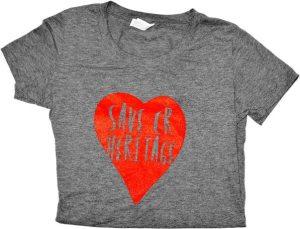 T-shirt, gray