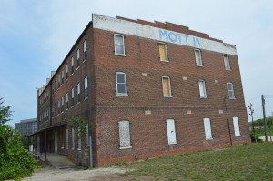Hobart Historic Restoration is readying to open the Mott Building, which neighbors the Knutson Building in Cedar Rapids, in May. (photo/Cindy Hadish)