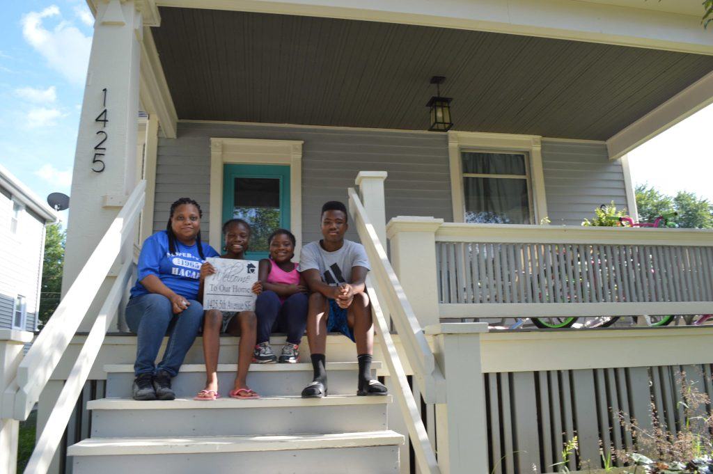 The Frankie House becomes a home