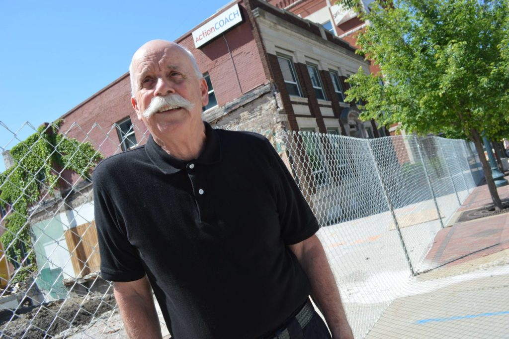 Final good-bye: family member bids farewell to historic Bever Building
