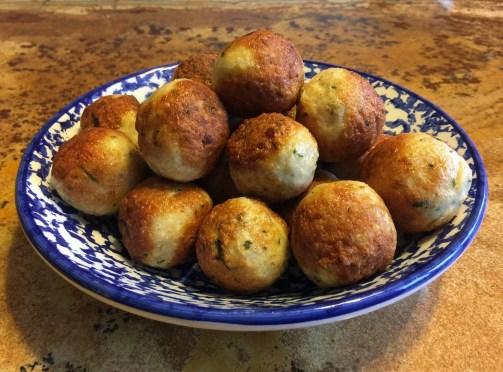 Restes de choucroute en boulettes