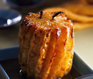 recette d'ananas rôti