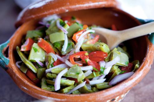manger du cactus - salade - saveeat